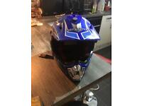 Kids motor bike helmet