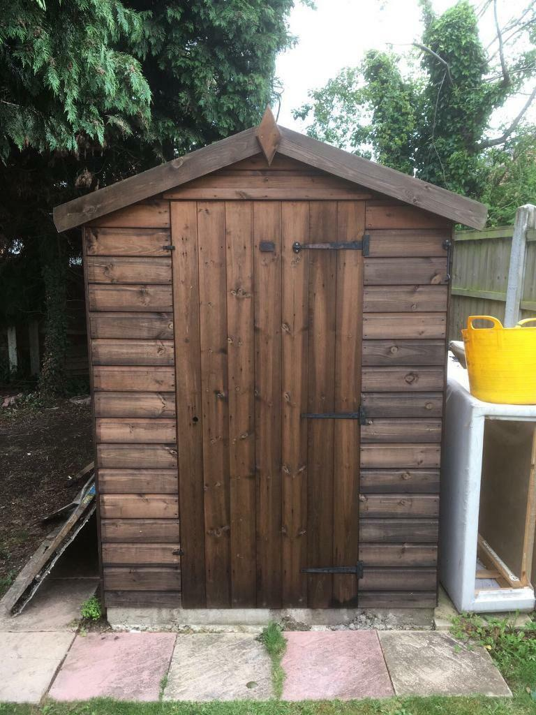 Wooden garages in nottinghamshire - Timber Shed Excellent Quality Grab A Bargain