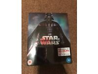 Star Wars The complete safe Blu-Ray set