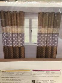 Brand New Next Curtains - 168x229cm -
