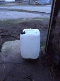 Barrels 25 litre and 200 litre