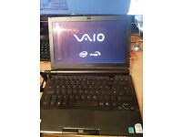 excellent SONY NETBOOK. 11.1 xbright widescreen 2 gig dvd drive.FULL OFFICE