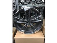 "4 18"" alloy wheels alloys rims tyre tyres audi seat Skoda Vw Volkswagen 112"