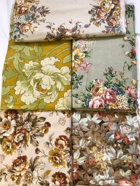 Vintage upholstery / curtain fabrics. Sanderson, Liberty etc for sale  Cromer, Norfolk