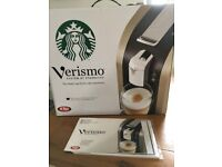 Pods coffe machine Versimo by Starbucks, used few times only.