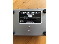 RARE AS ROCKING HORSE DISCONTINUED FULLTONE BASS DRIVE MOSFET PEDAL