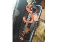 As new..STAG ELECTRIC VIOLIN..