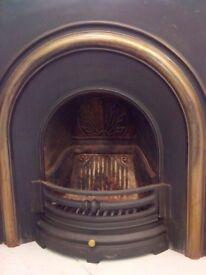 Cast Iron Victorian Fireplace Surround