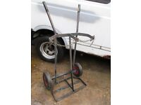 welding bottles trolley