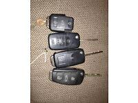Volkswagen and Audi keys job lot £15