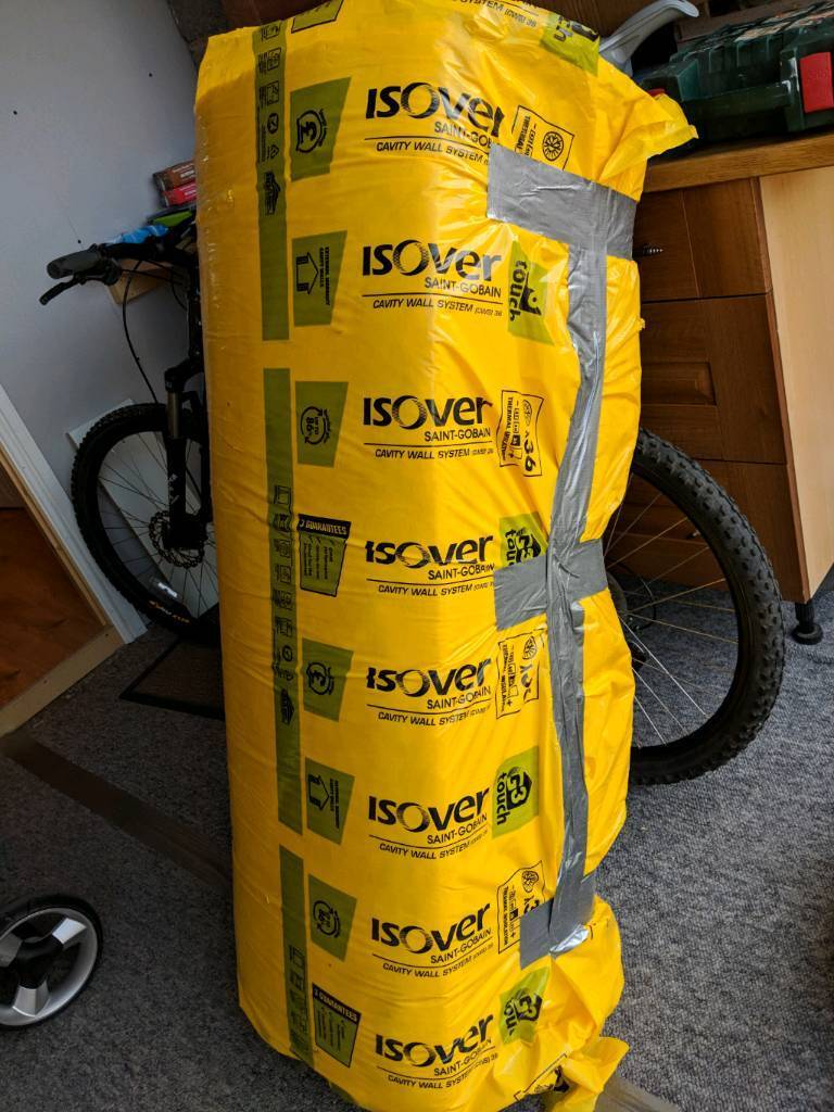 Isover Insulation cavity wall 8 Slabs 1200x450x75mm, total area 4.32 ...