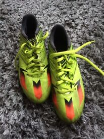 USED ADIDAS MESSI 15.3 ag/fg size 9