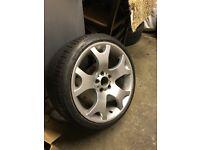 """X5 19"""" rear wheels"""