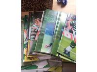 Old Celtic programmes £50