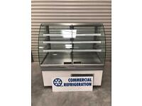 ISA patisserie cake display fridge chiller commercial