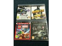 PS3 selection of Games