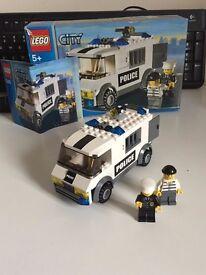 LEGO CITY Police Transport & Police Car - Set 7236 & 7245 BUNDLE