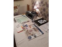 Scan any image/hand drawn illustration - cut fabric, vinyl or paper Brother Scan n Cut CM 900