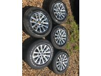 Mitsubishi l200 wheels and tyres, used for sale  Horley, Surrey