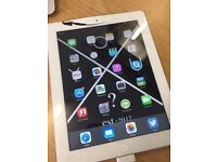 Ipad 2 Wifi Only 16 GB - Turning on Broken Screen - Has an iCloud Account left on - Spares Repairs