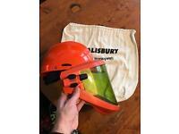 Welding arc-flash protective helmet