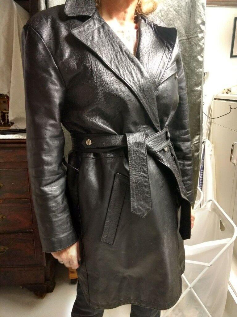 La Rocka Johnsons Cult Leather Coat - Vintage