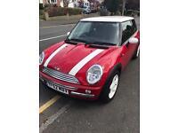 Mini Cooper 1.6 red