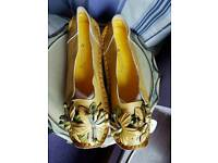 Brand New Socofy Leather Ladies Loafers