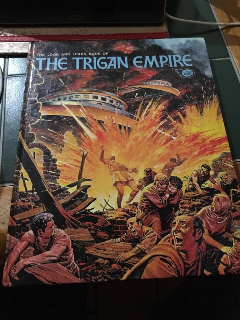 The Trigan Empire 1973 A fleetway Annual