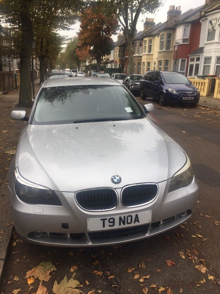 BMW 5 SERIES , 2004 private number plate .