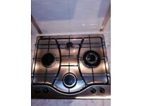 Gas Hob with Wok Burner