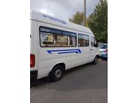 volkswagen lt35 camper conversion vgc inside & out long mot