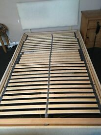 electric 4ft (small double) bed frame only