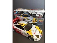 Model Car - Tamiya Boxed Porsche 911 GT3 Cup VIP TL01 4WD + Remote Control + Battery + Charger