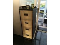 Filing Cabinet 4 Drawer Large Bisley