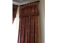 Insulated Curtains. During Winter prevent heat loss.