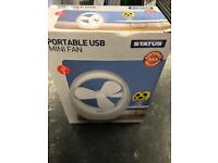 Usb portable mini fan