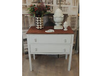 Shabby chic chest of 5 drawers