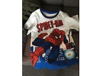 Spider-Man boys tshirt aged 7-8 years old boys