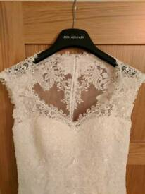 Justin Alexander 8656 wedding dress size 12