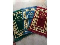 Brand new full size beautiful design mashallah Islamic prayer mats