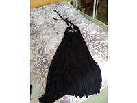 Summer Dress, M&S size 14, halter neck, never worn