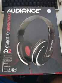 Audiance Dynamic Stereo A2 headphones