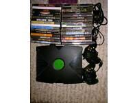 Original Xbox, 70+ games & 2 controllers