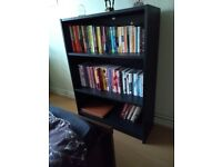 Wardrobe, book case, double bed, drawers, desk& chair,