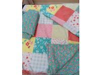 Girls & boys single reversible duvet cover sets