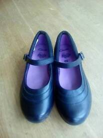 New Leather School Shoes Clarks 1G