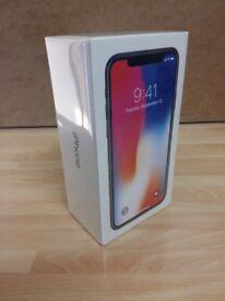 Apple iPhone X -64GB- Silver MQAD2B/A, Brand new Sealed