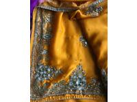 Beautiful mustard colour saree £80