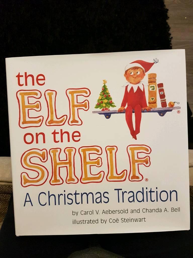 Elf on the Shelf christmas book